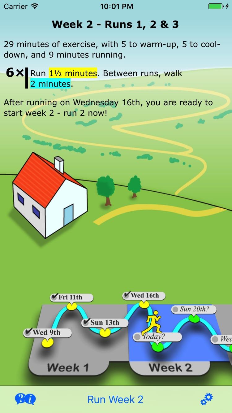 Get Running Screenshot