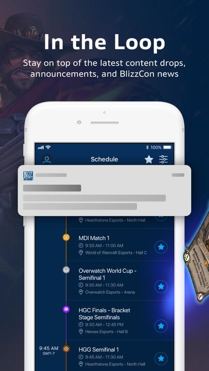 BlizzCon Mobile screenshot-3