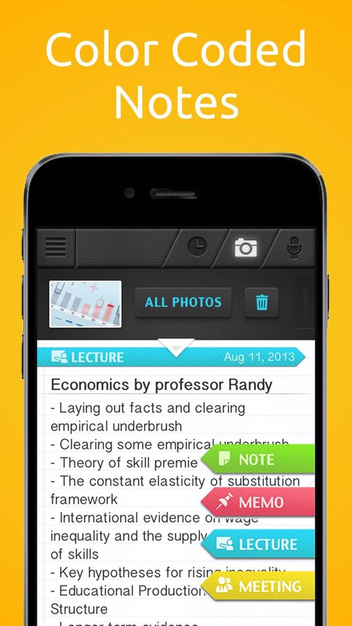 SuperNote Notes Recorder&Photo Screenshot