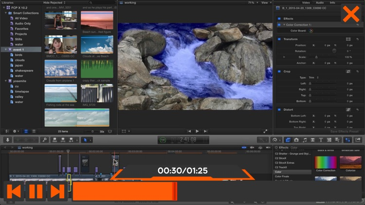 Course For FCPX 10.2 Features screenshot-3