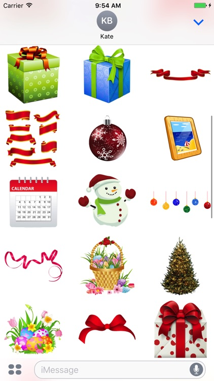 Holidays Pack for iMessage