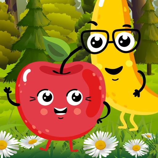 My Colouring Book - Fun Fruit Sketch Pad Game