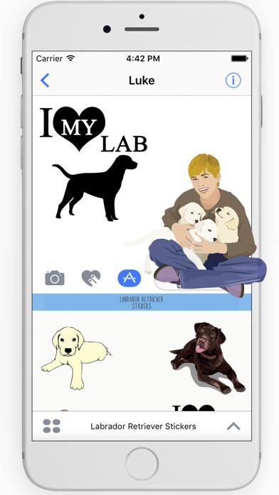 Labrador Retriever Stickers screenshot two