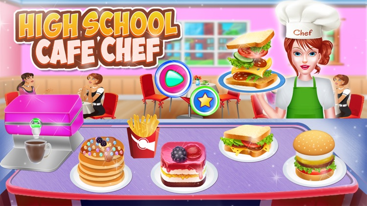 High School Cafe Chef screenshot-3