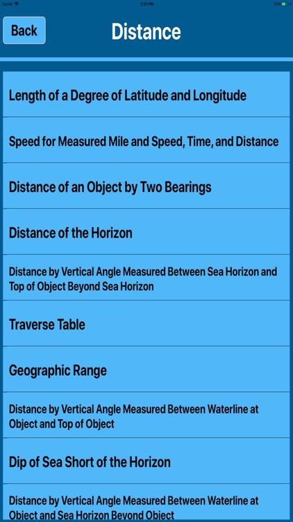 Marine Navigation Calculators screenshot-3