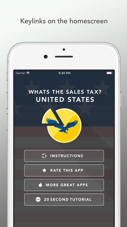 Whats the Sales Tax? USA screenshot-3