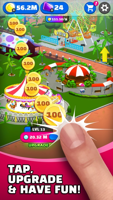 Click Park: Idle Building Game screenshot 3