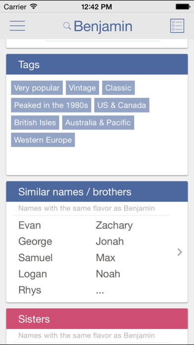 Baby Names by Nametrix Premiumのおすすめ画像2