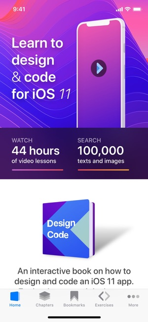 Design+Code on the App Store