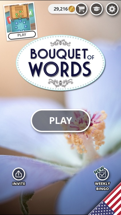 Bouquet of Words - Word Game screenshot-0