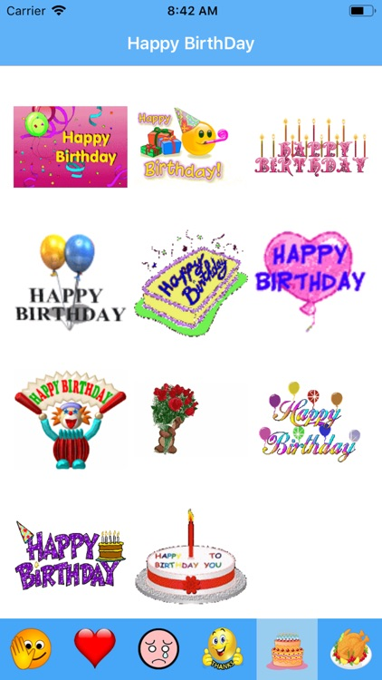 Exproji - Emoji Gif Stickers screenshot-3