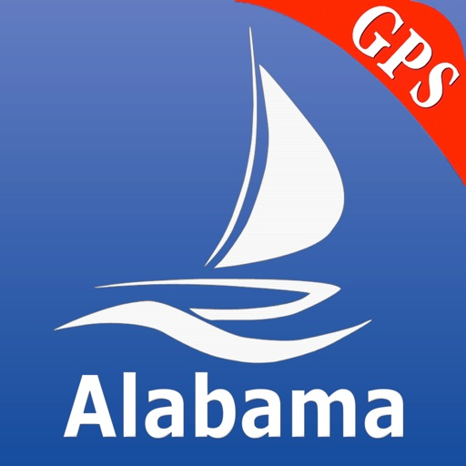 Alabama GPS Nautical Charts