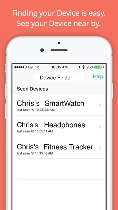 Find My Device - BT Scanner Screenshot