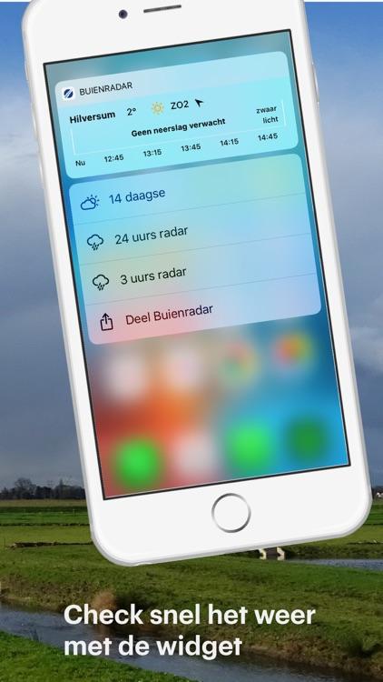 Buienradar - weer screenshot-4
