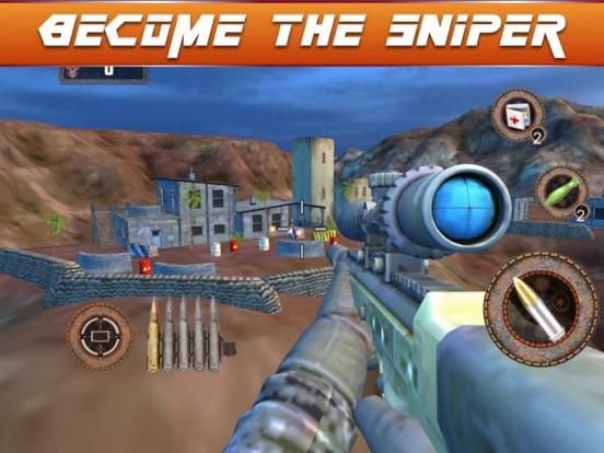 Sniper Fury 3D Assassin War screenshot 5
