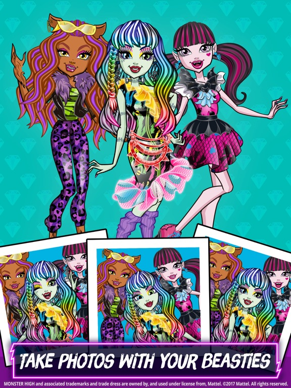 Monster High™ Beauty Shop screenshot 10