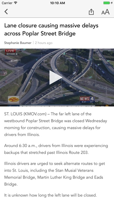 Kmov News St Louis review screenshots