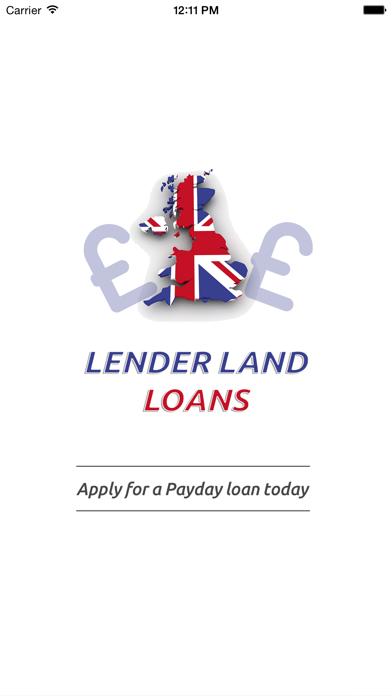 Lender Land Loans