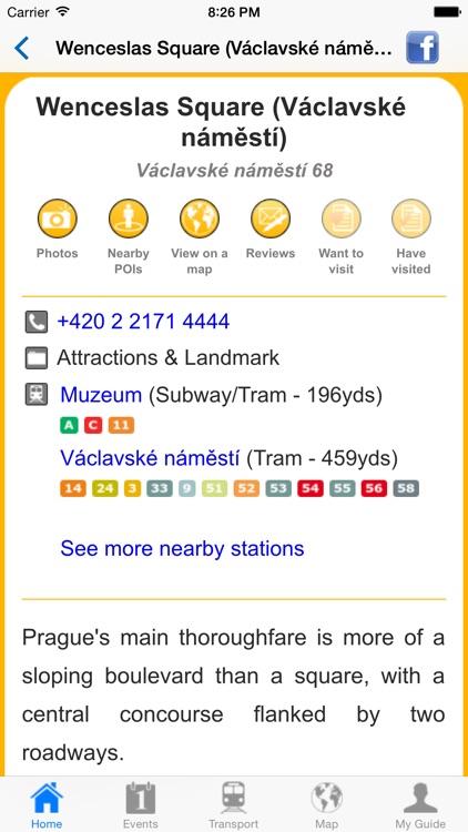 Prague Travel Guide Offline screenshot-4