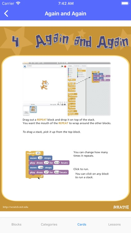 Start Scratch: Tutorials screenshot-9