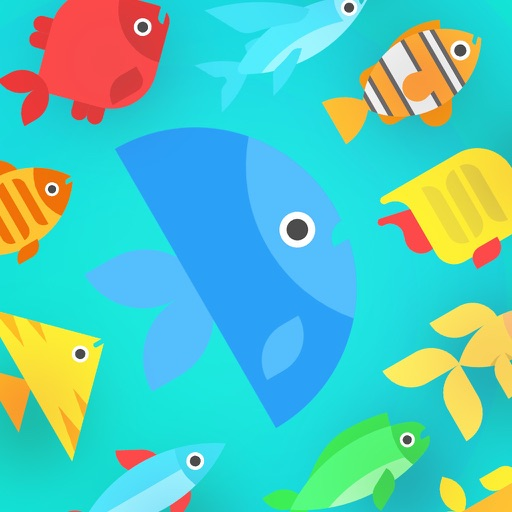 Go Merge Fish! Terrarium Game Icon