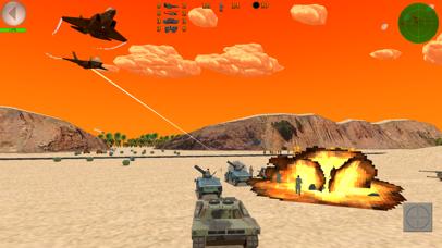 Desert War 3D - Tactical game screenshot four