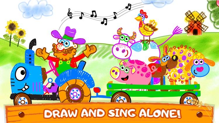 Bini Coloring & Drawing Games screenshot-5
