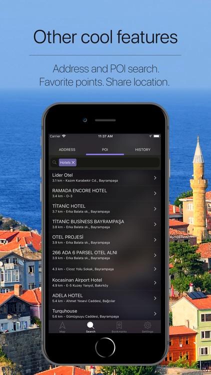 Turkey Offline Navigation screenshot-4