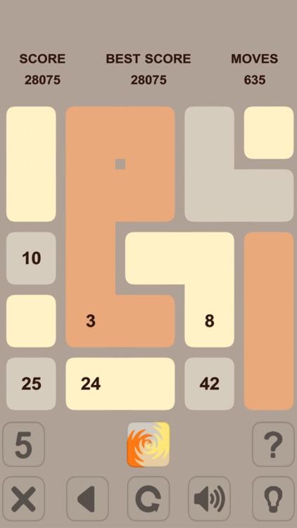 Blocks Numbers Puzzle