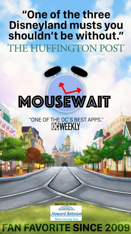 MouseWait Disneyland Lounge