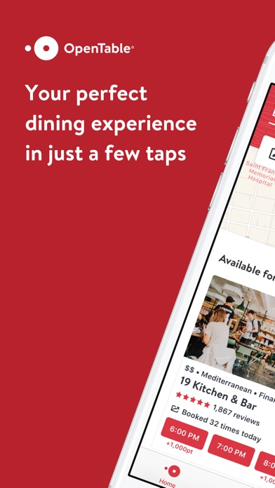 OpenTable for Windows