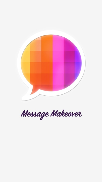Message Makeover - Colorful Text Message Bubbles screenshot-4