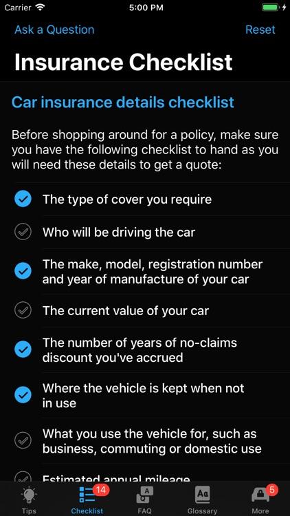 Car Insurance App screenshot-5