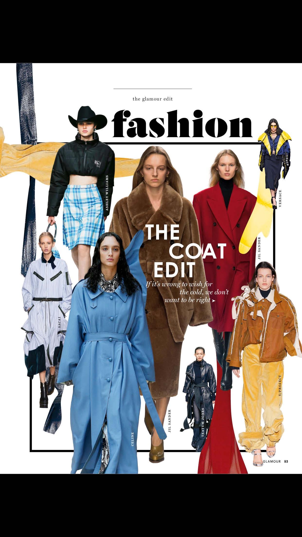 Glamour Magazine (UK) Screenshot