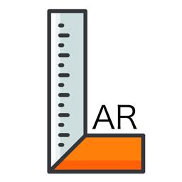 Ícone do app AR tape measure