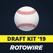Fantasy Baseball Draft Kit '19