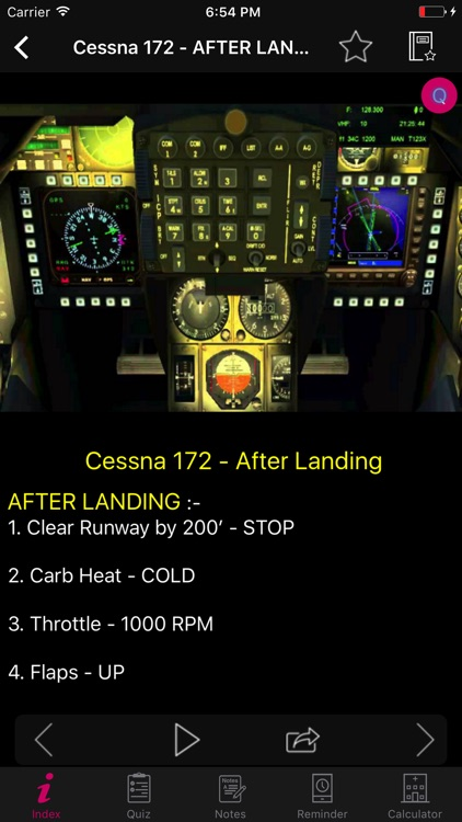 Cessna 172 Checklist Preflight