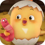 儿童游戏之小鸡拼图-婴幼儿益智拼图游戏