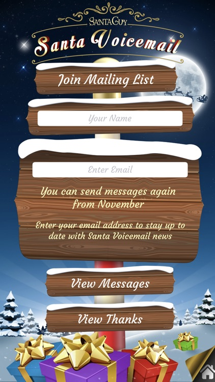 Santa Voicemail screenshot-4