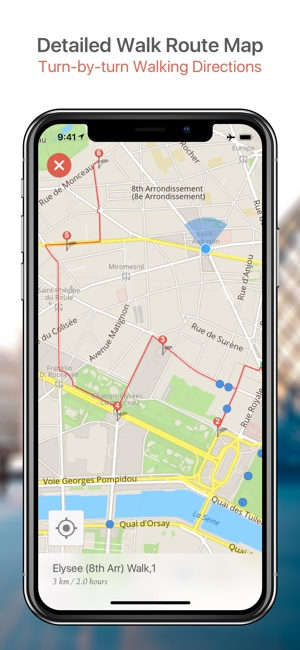 Helsinki Map And Walks On The App Store