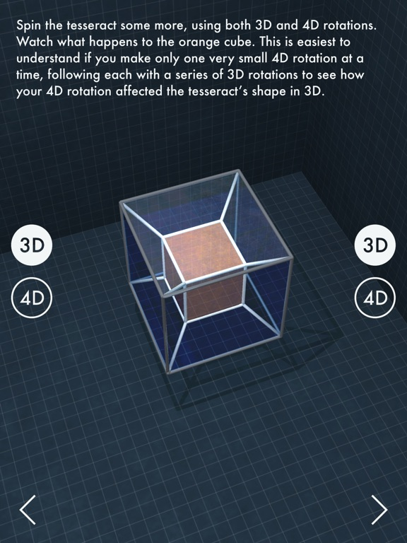 Screenshot #1 for The Fourth Dimension