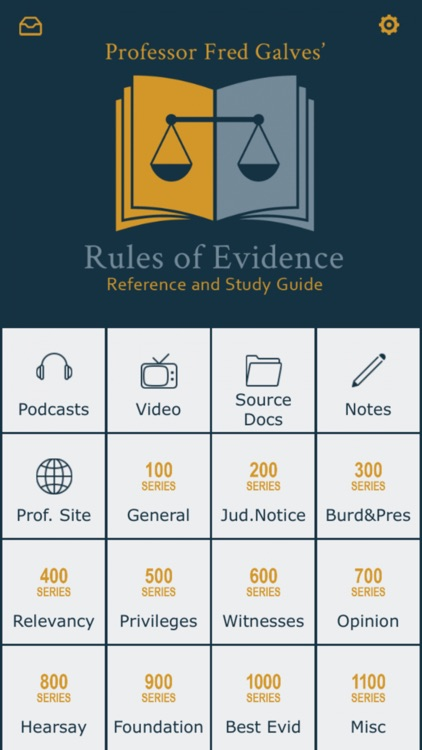 Prof. Galves Rules of Evidence