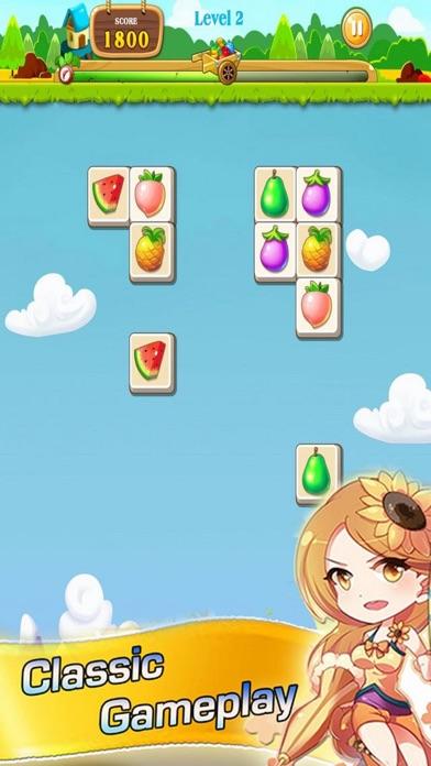Funny Finger Fruit Connect screenshot one