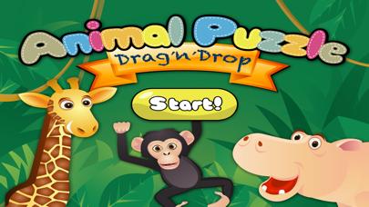 アニマルパズル -幼児向けドラッグアンドドロップパズルのおすすめ画像1