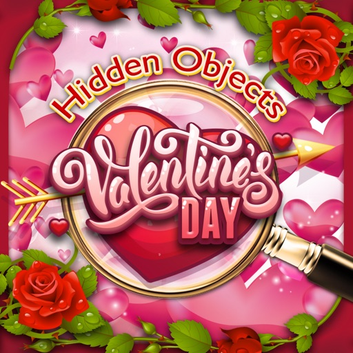 Hidden Objects Valentine's Day