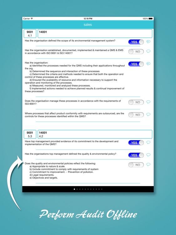ISO 9001 Audit screenshot-3
