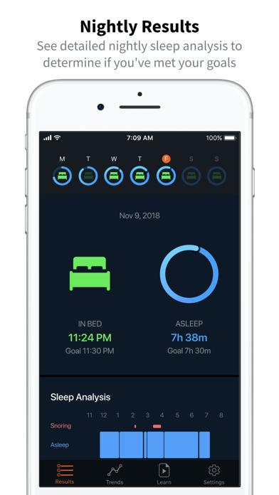 Beddit (for Model 3.5) screenshot 2