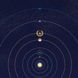 Ícone do app Planetary Clock