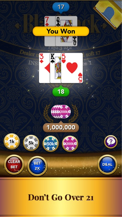 Blackjack – Casino Card Game screenshot-3