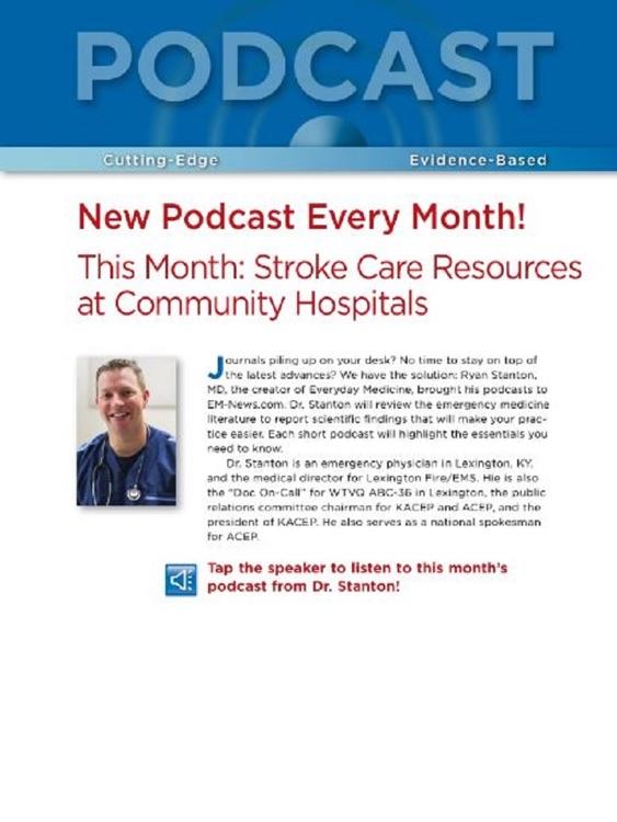 Emergency Medicine News